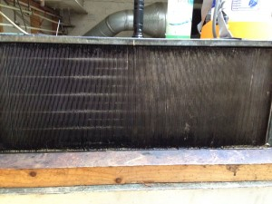 Coldroom condenser coil after